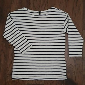 J. Crew 3/4 sleeved  tee-shirt